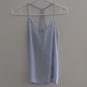 Abercrombie and Fitch Light Blue Strappy Tank